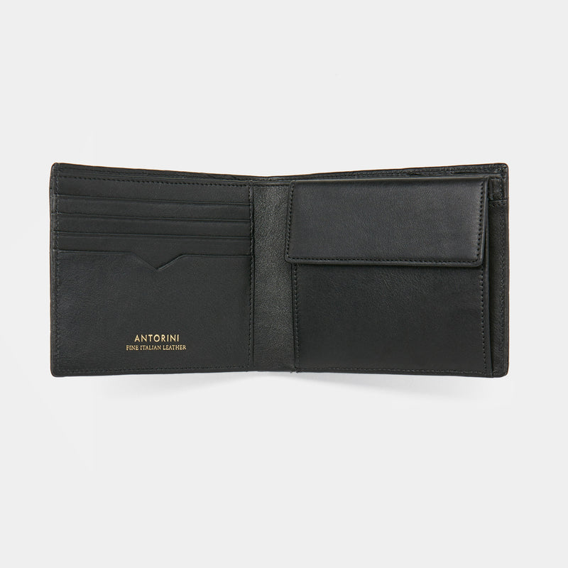 Men´s Wallet ANTORINI Excellence in Black Genuine Crocodile Leather-ANTORINI®