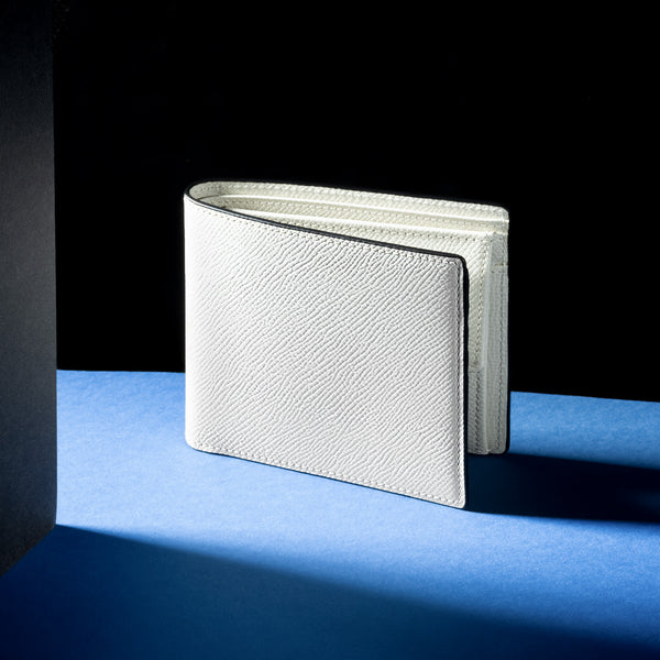 Men's Wallet 4cc with Coin Case ANTORINI Gritti, Cream-ANTORINI®