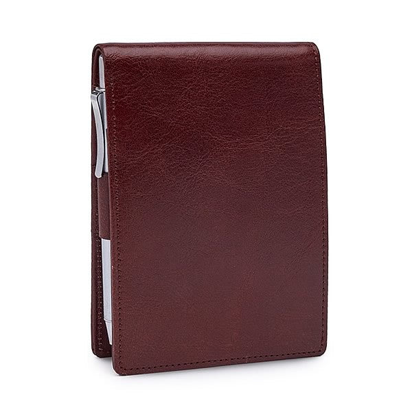 Pocket Memo Pad in Venice Brown