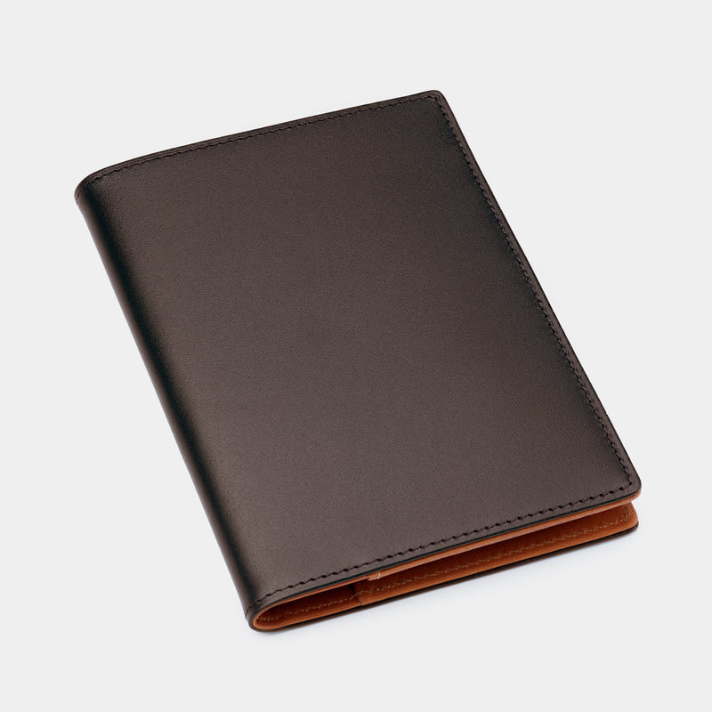 Passport Holder in Brown and Cognac-ANTORINI®