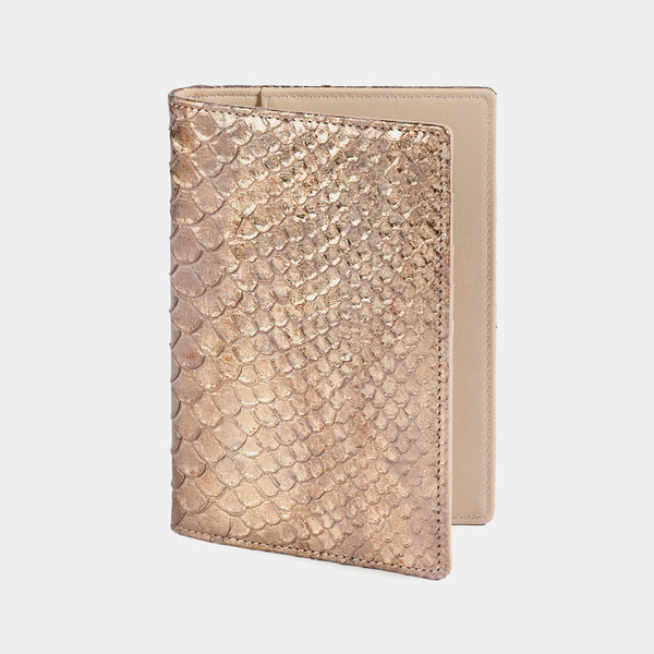 Passport Case in Bronze and Nude-ANTORINI®