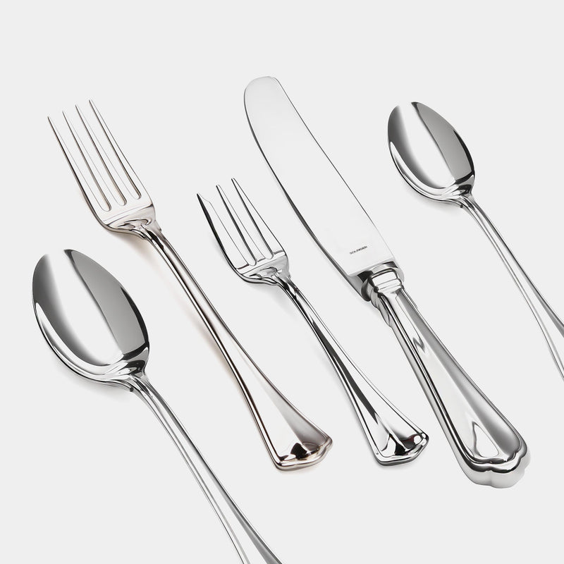 Silver Cutlery Princess 24-Piece Set, Silver 925/1000, 1242 g-ANTORINI®