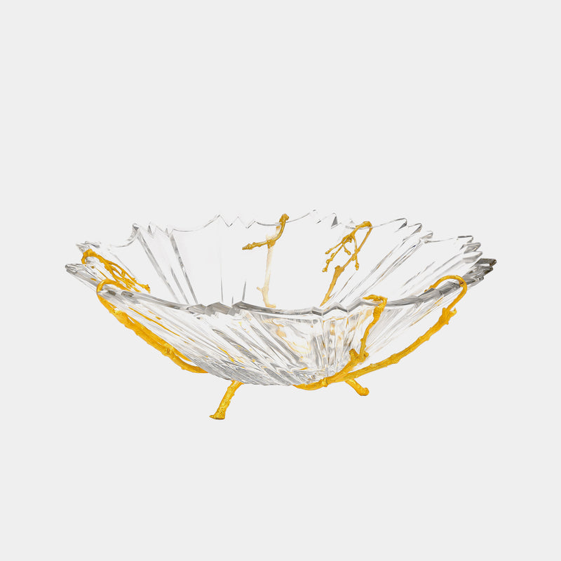 Fruit Bowl ANTORINI Pure II., gold plated-ANTORINI®
