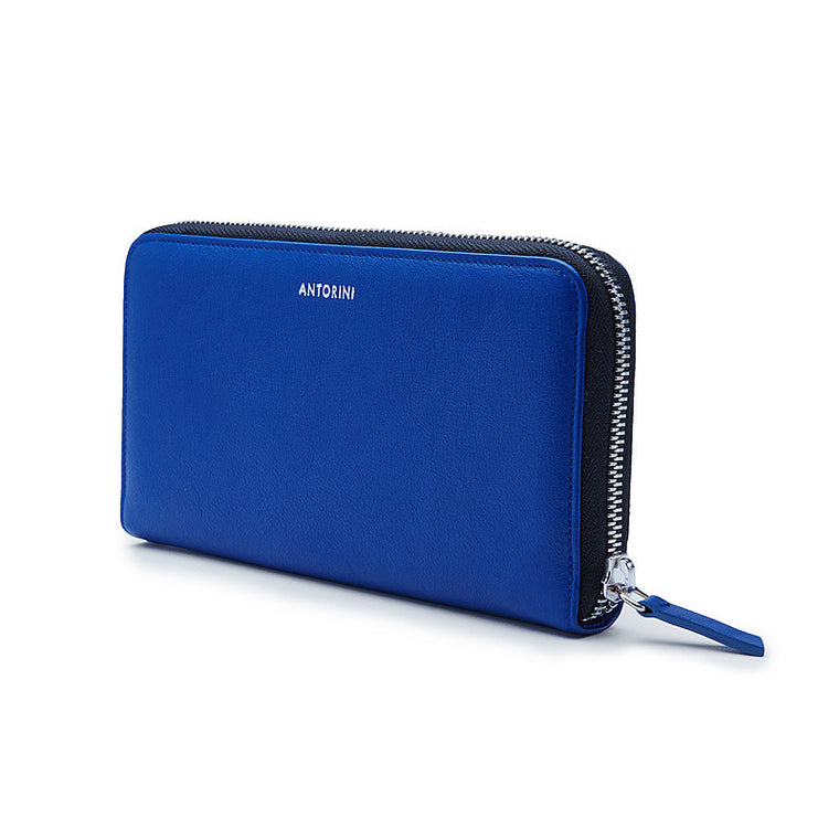 Luxurious Ladies ANTORINI City Wallet in Blue