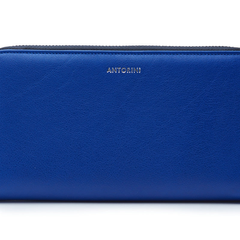 Luxurious Ladies ANTORINI City Wallet in Blue-ANTORINI®