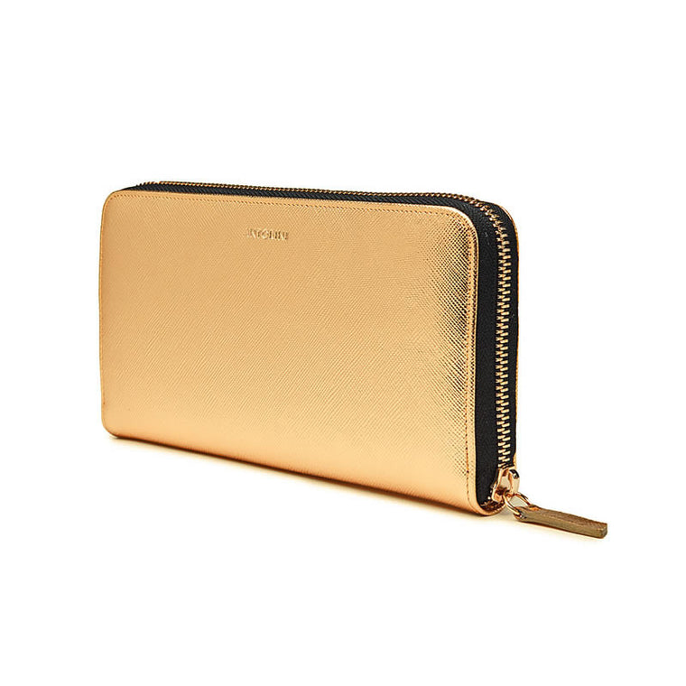 Luxurious Ladies ANTORINI City Wallet in Gold