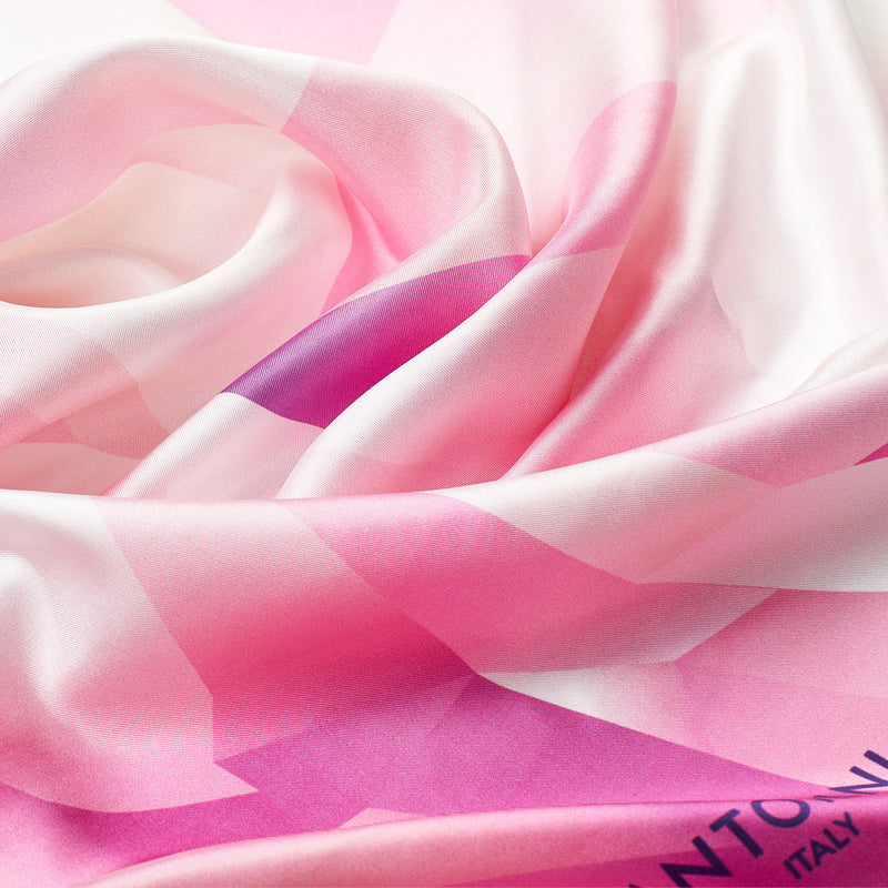 Silk Scarf Crystal World, Pink-ANTORINI®