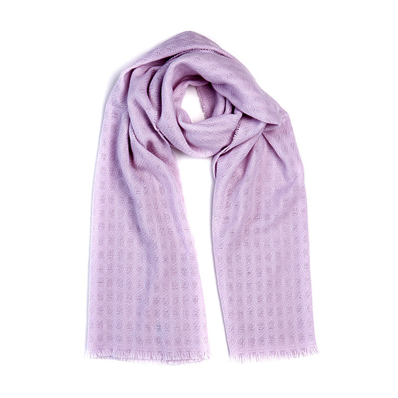 Cashmere Scarf in Dusky Pink