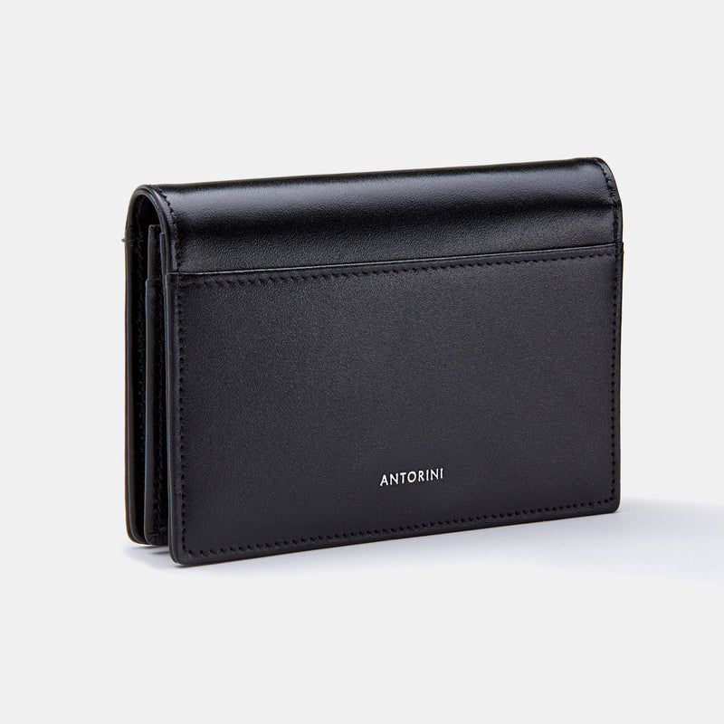 Credit & Business Holder in Satin-ANTORINI®