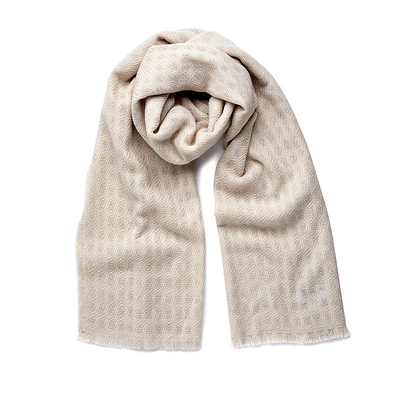 Cashmere Scarf in Swansdown-ANTORINI®