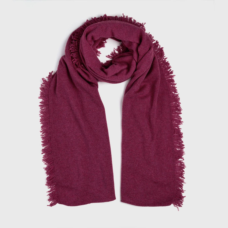 Cashmere Scarf in Wildberry-ANTORINI®