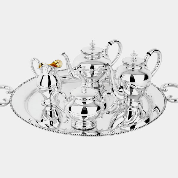 Tea and Coffee Set Celebrazione, silver 925/1000, 3070 g-ANTORINI®