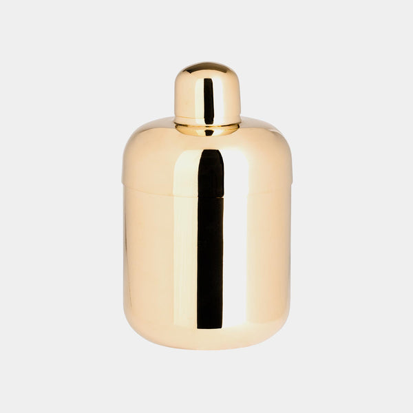 Luxury Cocktail Shaker, Brass-ANTORINI®