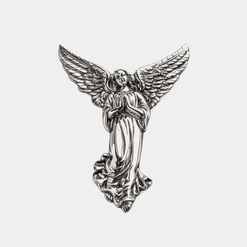 Guardian Angel, silver plated, 11 cm-ANTORINI®