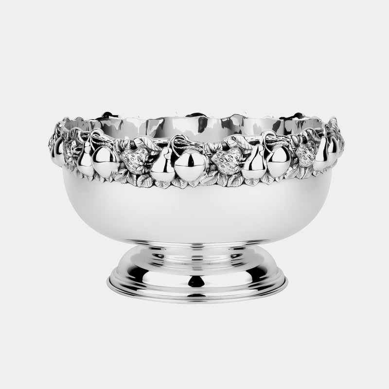 Fruit Bowl GIARDINO, silver plated-ANTORINI®
