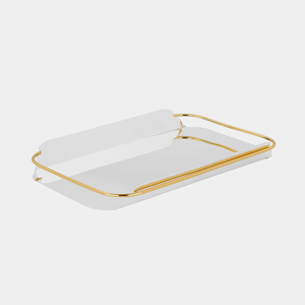 Modern Tray, silver-plated-ANTORINI®