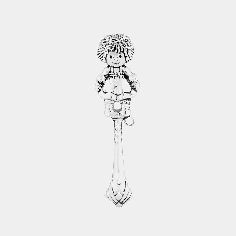Silver Chilldren´s Rattle, Girl, silver 925/1000, 23 g-ANTORINI®