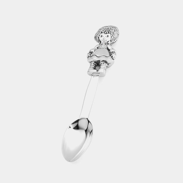 Silver Baby Spoon, Girl, sterling silver 925/1000, 35 g-ANTORINI®