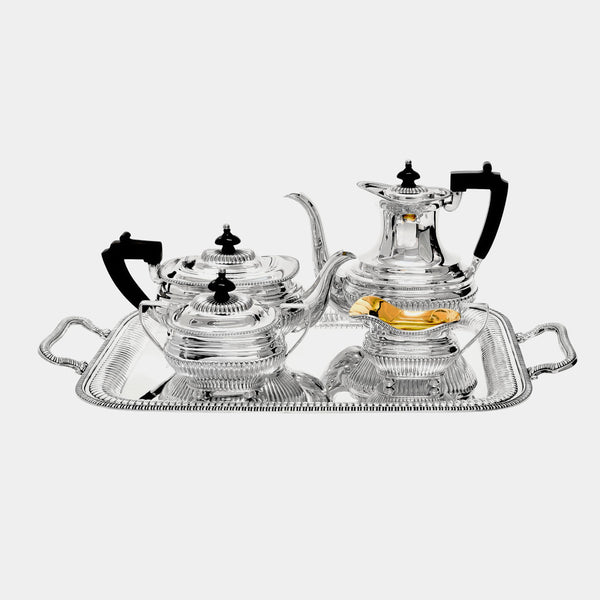 Tea and Coffee Set Gracioso, silver 925/1000, 5835 g-ANTORINI®