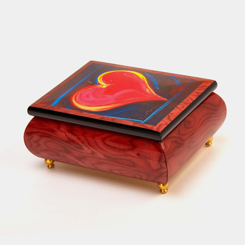 "Music Jewellery Box with Motive of ""Heartfelt""-ANTORINI®"