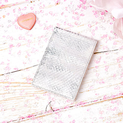 Pocket Memo Pad in Silver and Ivory-ANTORINI®