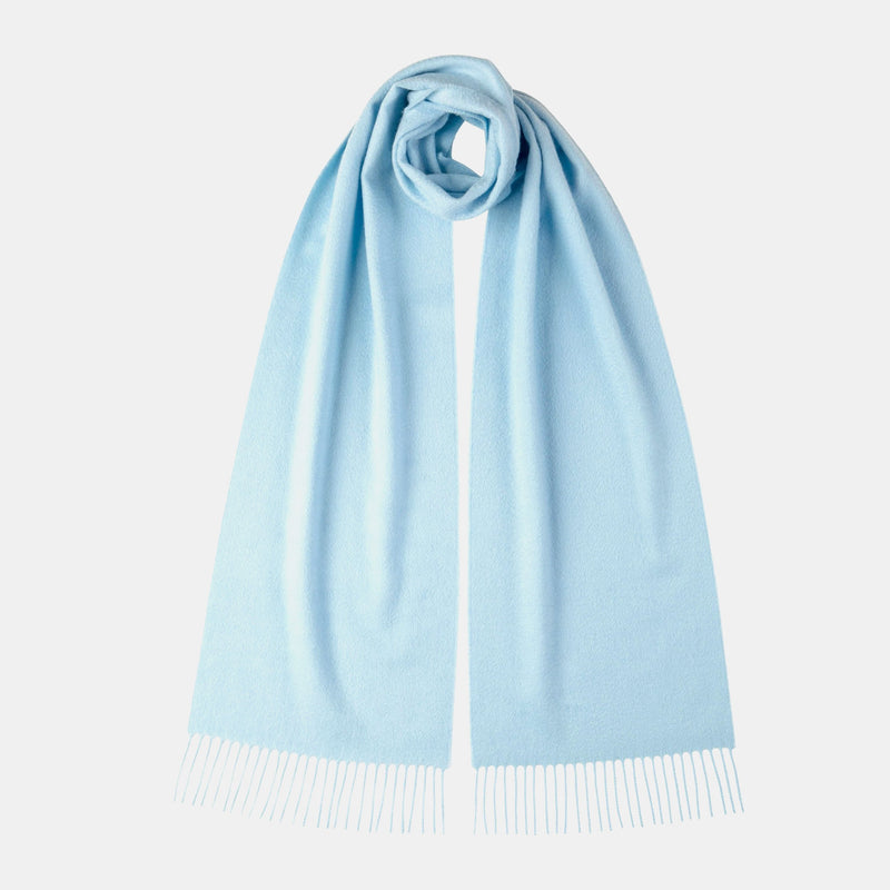 Classic Cashmere Scarf in Light Blue-ANTORINI®