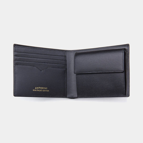 Men´s Coin Wallet ANTORINI in Black Terre-ANTORINI®