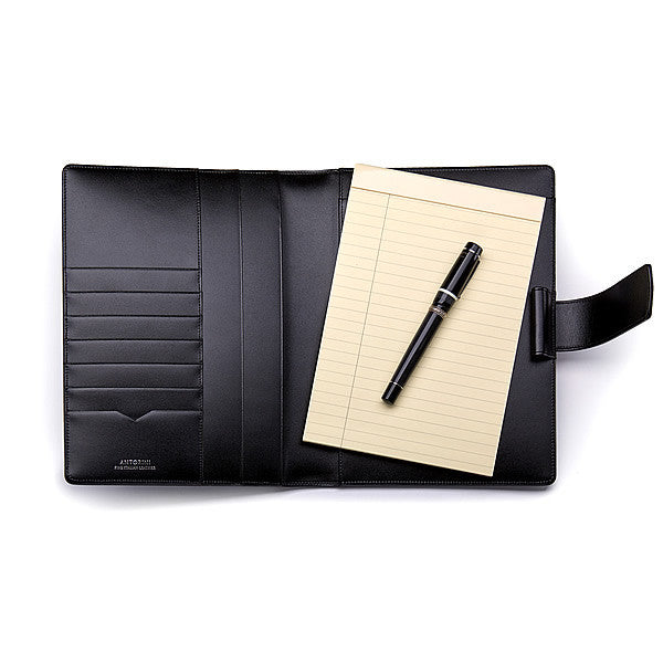 Leather A5 Padfolio in Terre with Note Pad-ANTORINI®