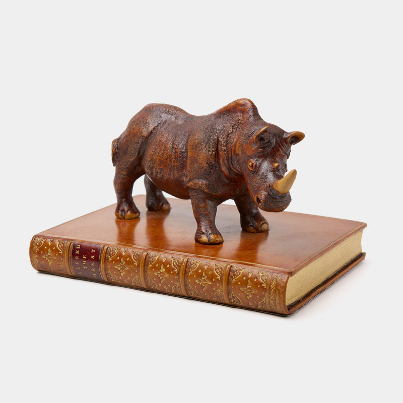 Paperweight with Rhinoceros-ANTORINI®