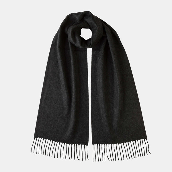 Cashmere Scarf in Dark Grey-ANTORINI®