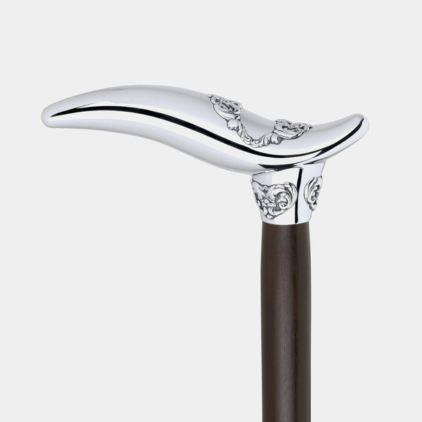 Walking Stick With Sterling Silver Handle, Silver 925/1000, 141 g-ANTORINI®