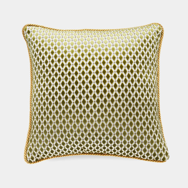 Luxury Pillow, Diamond Green, 40 cm-ANTORINI®