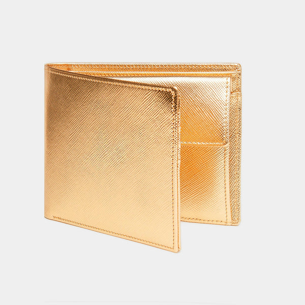 Men´s Wallet  ANTORINI in Gold Saffiano