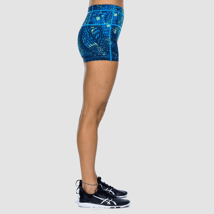 High Performance Fitted Shorts
