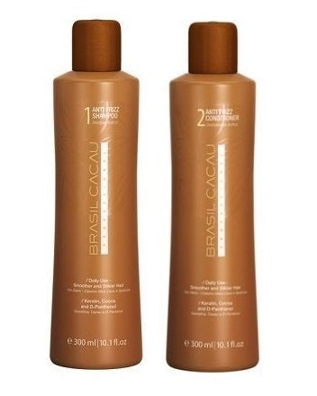 Brasil Cacau Anti Frizz Shampoo & Conditioner Set - 300ml