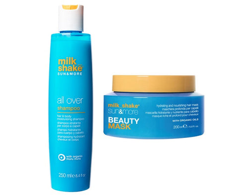 Milkshake Sun & More All Over Shampoo & Beauty Mask Set