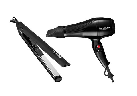 Label.M Hairdryer & Hair Iron Set