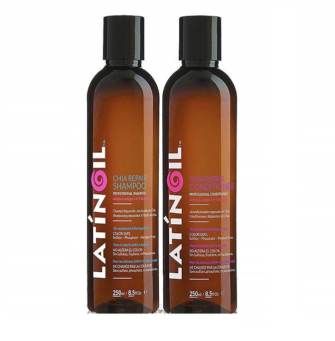 Latinoil Chia Repair Shampoo & Conditioner Set 250ml