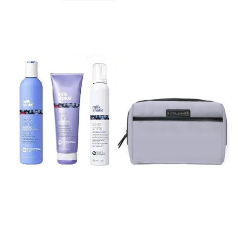 Milkshake Silver Shine Set & Bag