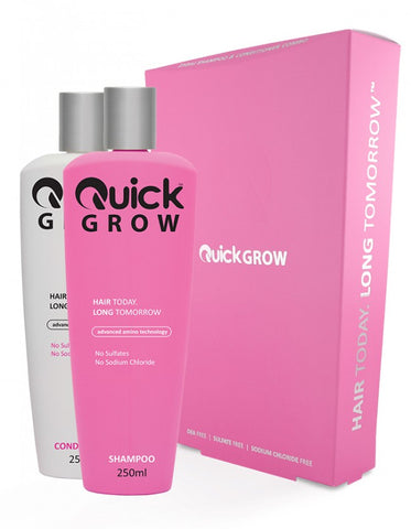 Quick Grow Shampoo & Conditioner Set - 250ml