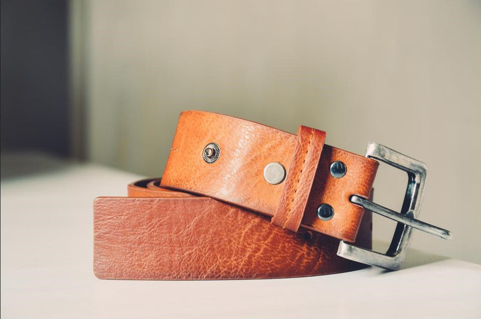 Leather Belt Section