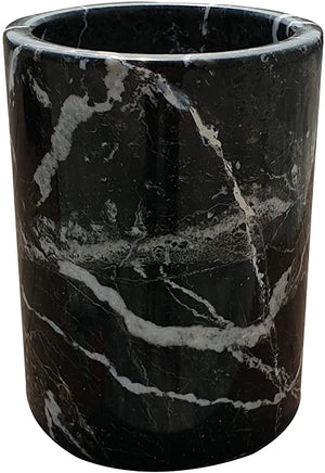 Marble & Leather Vase