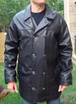 WW2 Uboat Doctor Who 3 Quarter Leather Coat