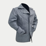 Submarine World War 2 German Three Qaurter Leather Coat