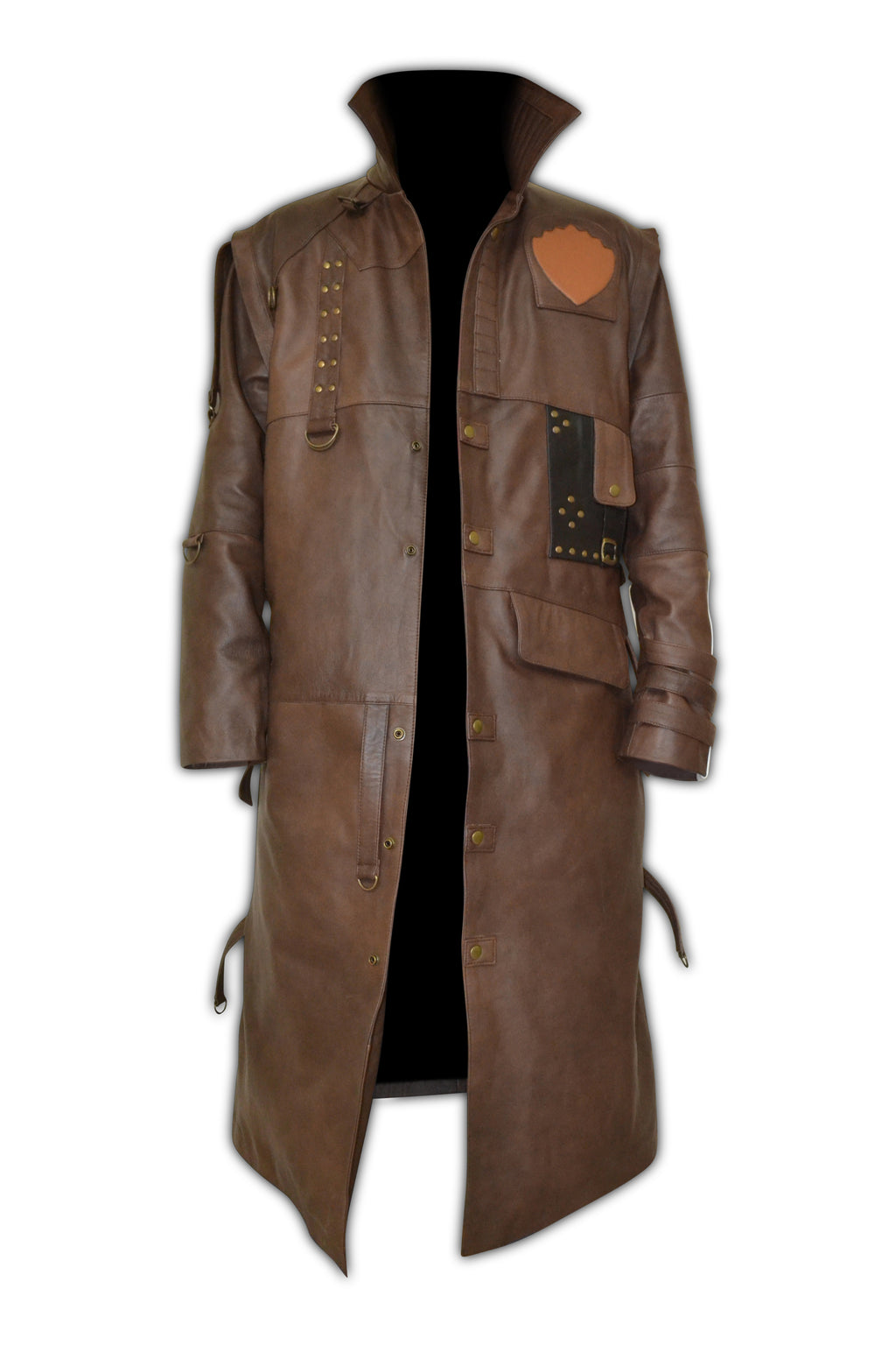 Guardians of the Galaxy Yondu Brown Leather Coat