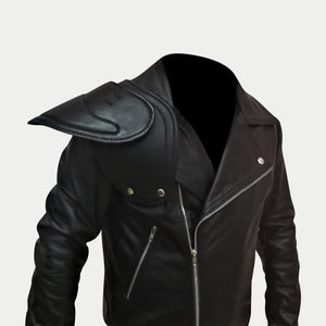 Mad Max 2 Road Warrior Biker Full Sleeves Leather Jacket