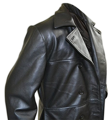 Eric Draven Brandon Lee The Crow Movie Leather Long Coat