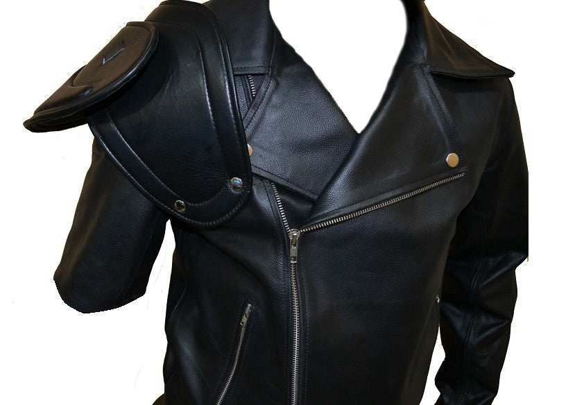 SouthBeachLeather Mad Max Road Warrior Full Sleeves Jacket//Mad Max 2 Jacket