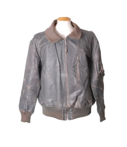 German Luftwaffe Flight Leather Jacket
