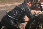 Mad Max Rockatansky Leather Jacket And MFP Leather Pant Complete Suit